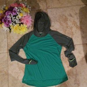 Nike running dry fit hoodie